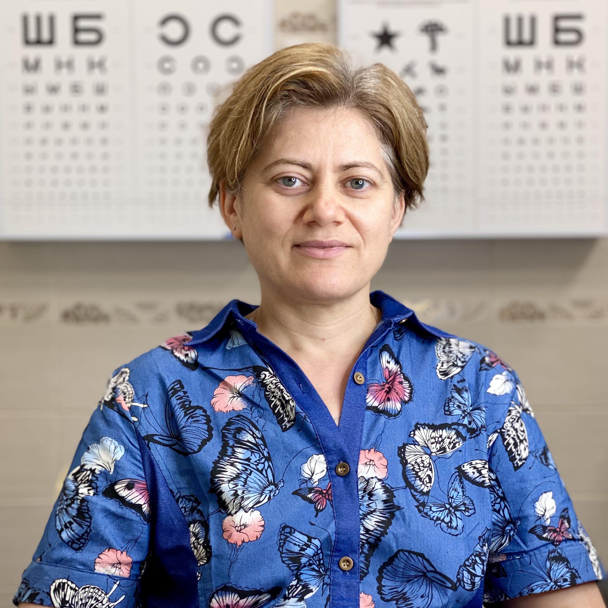 офтальмолог Сущеня Галина Анатольевна