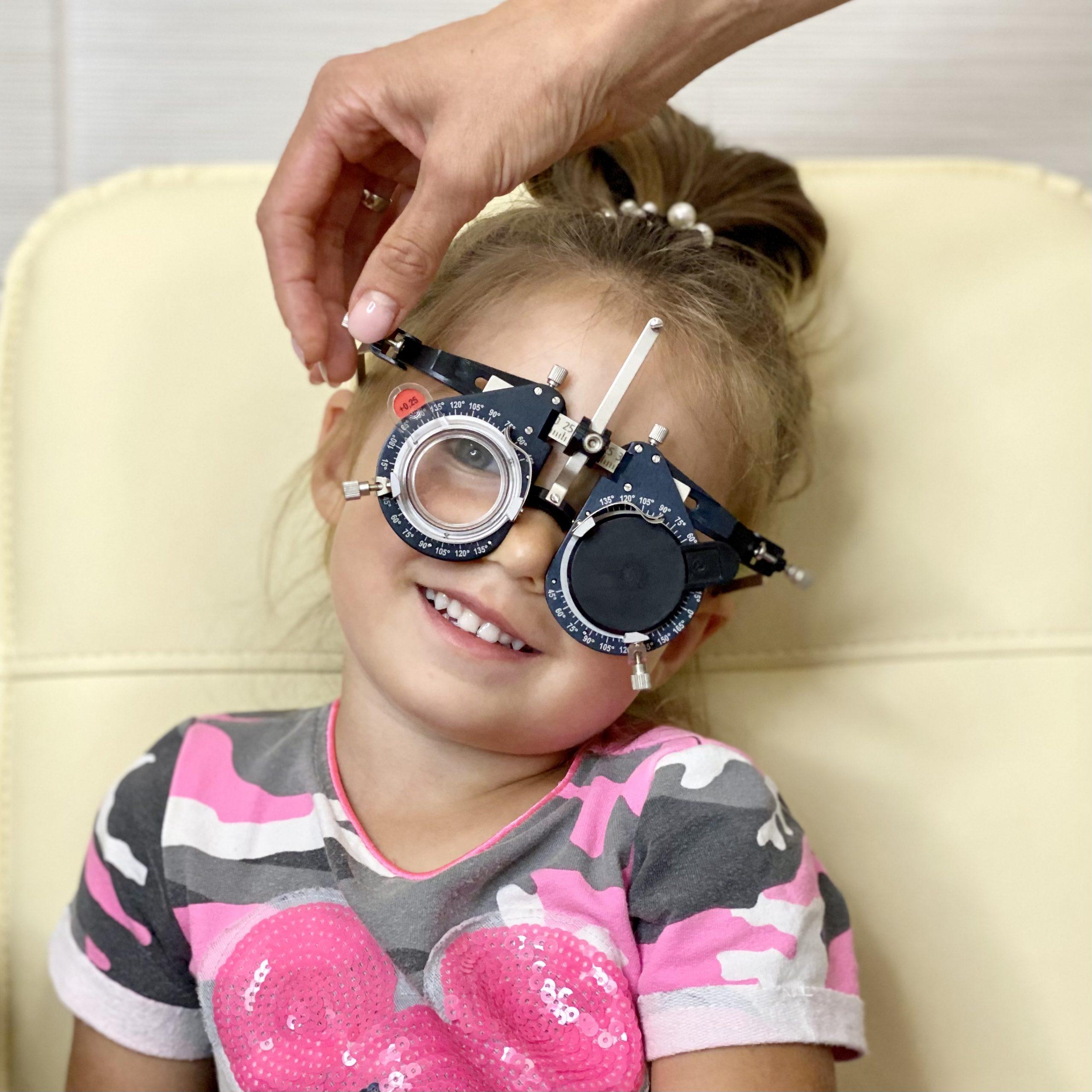 Медосмотр ребёнка у офтальмолога